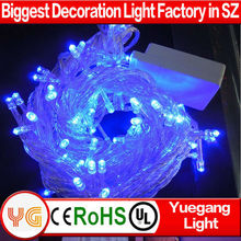10m 100led blue yellow red 2013 christmas light ornaments rotator manufacturing business