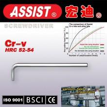 ISO9001 CRV material allen key bar Torx key Wrench spanner hand tools