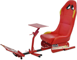 2015 new hot sale rally racing simulator seat and folding game seat