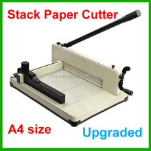 Heavy Duty 858 A4 Size Stack Paper Cutter All Metal Ream Guillotine No Assembly Required