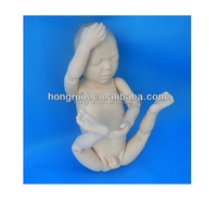 ISO PVC plastic newborn baby care model&Baby care product&;Baby manikins