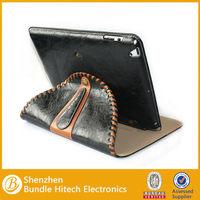 Leather case for ipad4, For ipad 4 leather case Factory OEM
