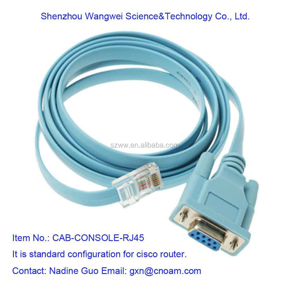 Cab-console-rj45 Cisco Router Console Cable - Buy Cisco Smart Serial ...