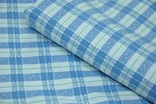 100% cotton check shirt fabric SJ401