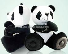 2015 Panda Plush doll speaker animal speaker compatible for smartphone/tablet/laptops