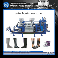 Full-Automatic Rain Boots Injection Moulding Machine One Or Two Color