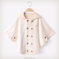 100%Organic cotton cloak for 0-3 years old velvet baby cloak