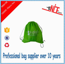 2015 most popular promotional polyester drawstring bag for gift