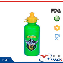 cute dog logo imprint water bottle kids 500ml