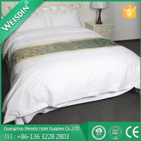 WEISDIN hotel supplies new style plain bedding set, king size comforter sets wholesale