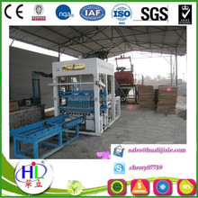 Products QT4-15B automatic machine laying a concrete block used
