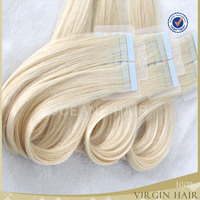 brazilian hair 7a human remy tape hair extensions