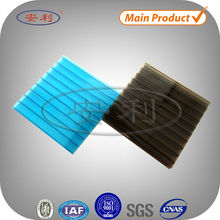 Good thermal insulation 4mm 16mm twin wall polycarbonate sheet