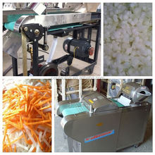 Long service life carrot dicer with low investment and low energy cost
