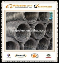 Via Tianjin port steel wire rods wire rods SAE 1006 SAE1008 for ACS wire