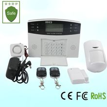 Home Security Fire Alarm system with FSTN network connection voice prompts for operation