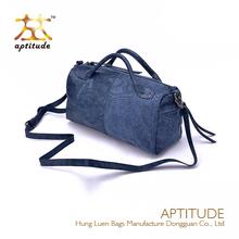 High end quality fashionable PU leather women branded handbag