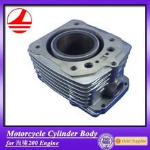 Manufacture Chinese 200CC Cylinder Body Motorbike Parts Dealers