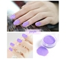 Factory hot sale popular color glitter nails decoration