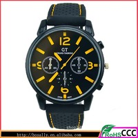 Hot sale green waterproof cheap silicone watch custom silicone watches