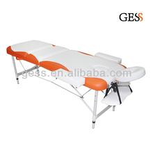 Lightweight 3-section korea massage bed for sale