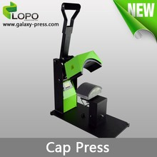 Pluto manaul heat press cap printing machine from Lopo