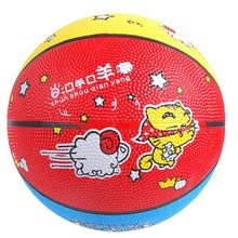 High quality oem rubber basketball color factory price export promotional price