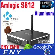 MXQ Android TV Quad Core Amlogic S812 2.0GHz Android TV Box 2GB Ram