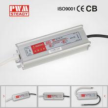 OEM/ODM ip67 12v led power supply metal case waterproof dc 12v led driver