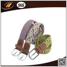 Wholesale Metal Buckle Cotton Webbing Belt