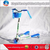 3 in 1 plastic pedal pro kick scooters child swing scooter