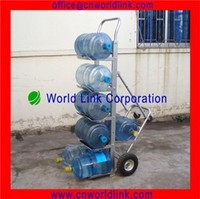 4 Wheels Heavy Duty Rolling Collapsible Water Bottled Hand Cart