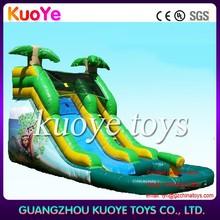 water slide pool inflatables,durable water slide inflatable,inflatable pool with slide