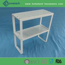 Double layer household mini rack kitchen furnishing