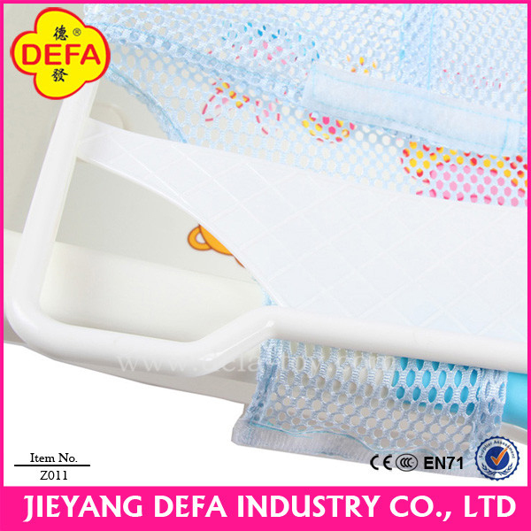safety and anti-slip baby plastic bath bed baby bath net .jpg