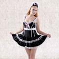 زي الخادمة الفرنسية زي خادمة الفرنسية يتوهم فستان كرنفال ازياء للنساء