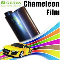 Flat chameleon vinyl wrap for car vinile adesivo