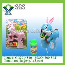 mavi ışık tavşan kabarcık oyuncak balonu su