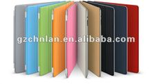 smart cover leather case stand for Apple ipad 2