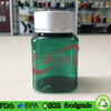 Green PET Apple Extract Candy Vial,Square Apple Candy Plastic Container,Wholesale Plastic Fruit Candy Bottle