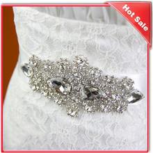 crystal beaded appliques sash belt wedding bridal belt for wedding dress