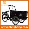 cargo delivery bike green energy three wheel motorcycle cargo bike electric tricycle for sale
