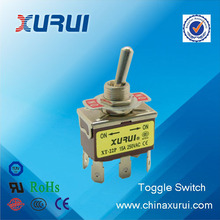 XT-22A TUV&RoHS DPDT 15A toggle switch dpdt on-off