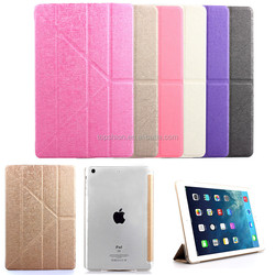 tablets cases for ipad air, for ipad case with transformer style flip leather cover cases