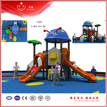 new style outdoor playground equipment plastic slide