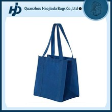 factory wholesale grocery promotional non woven shopping bag