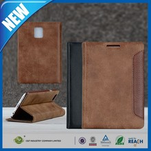 C&T Real PU Leather Wallet Cover for BlackBerry Passport