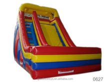 inflatable wipeout 0.55mm pvc double lane inflatable slide sport equipment