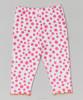 OEM factory wholesale polka dot capri baby pants