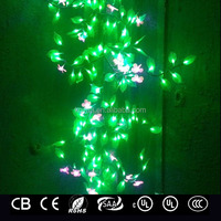 LED twining plant light for decorating lamp column,tree trunk, ceiling, fence or wall etc